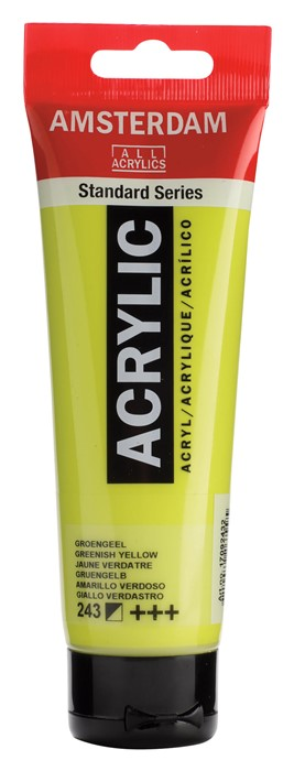 Ams std 243 Greenish yellow - 120 ml