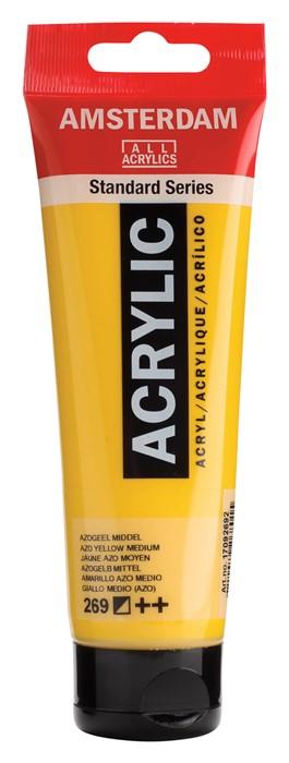 Ams std 269 Azo yellow Medium - 120 ml