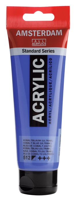 Ams std 512 Cobalt blue (ultramarine) - 120 ml