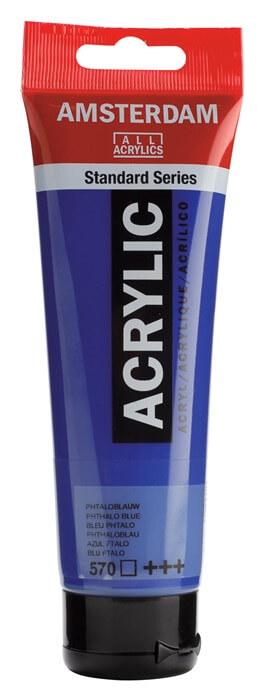 Ams std 570 Phthalo blue - 120 ml