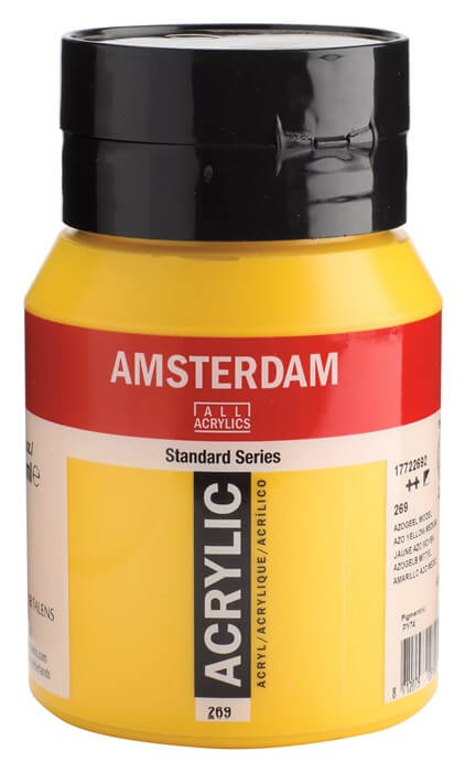 Ams std 269 Azo yellow Medium - 500 ml