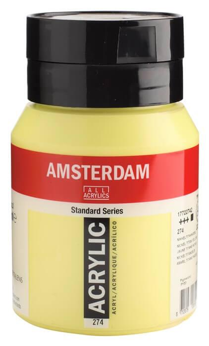 Ams std 274 Nickel Titanium yellow - 500 ml