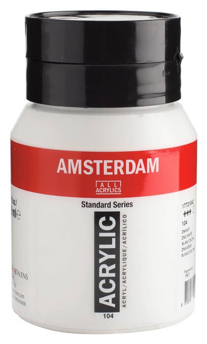 Ams std 104 Zinc white - 500 ml