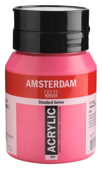 Ams std 366 Quinacridone rose - 500 ml