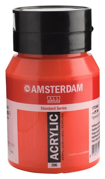 Ams std 396 Naphtol red Medium - 500 ml