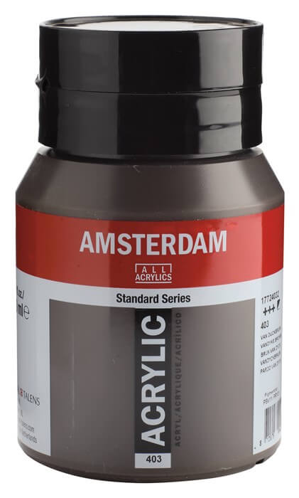 Ams std 403 Vandyke brown - 500 ml
