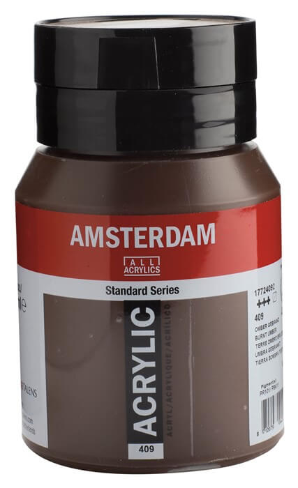 Ams std 409 Burnt umber - 500 ml