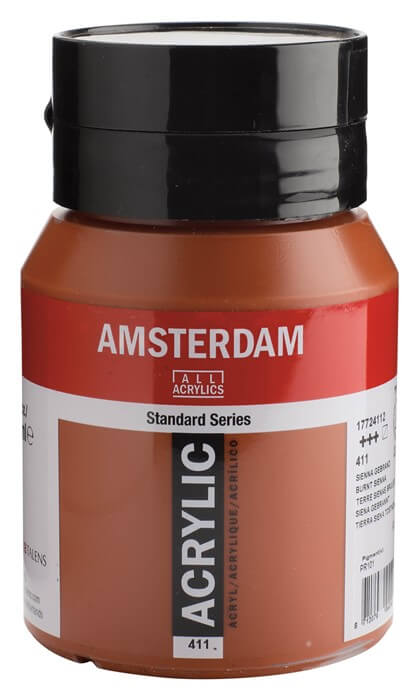 Ams std 411 Burnt sienna - 500 ml