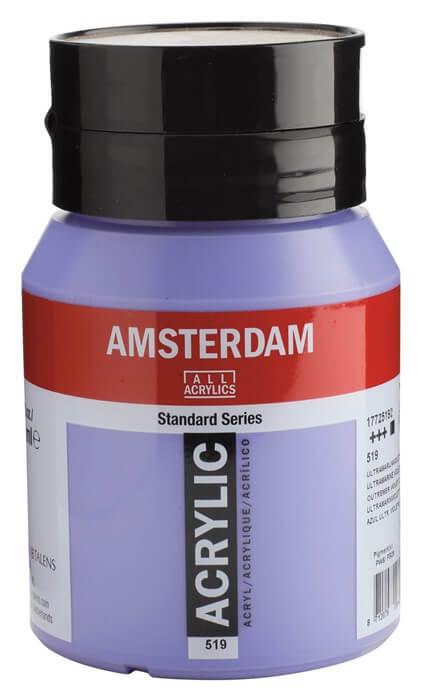 Ams std 519 Ultramarine violet Light - 500 ml