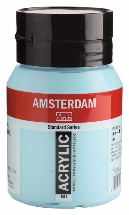 Ams std 551 Sky blue Light - 500 ml
