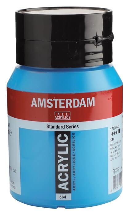 Ams std 564 Brilliant blue - 500 ml