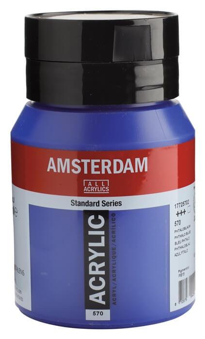 Ams std 570 Phthalo blue - 500 ml