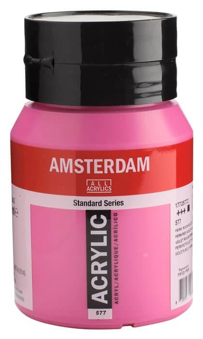 Ams std 577 Permanent red violet Light - 500 ml