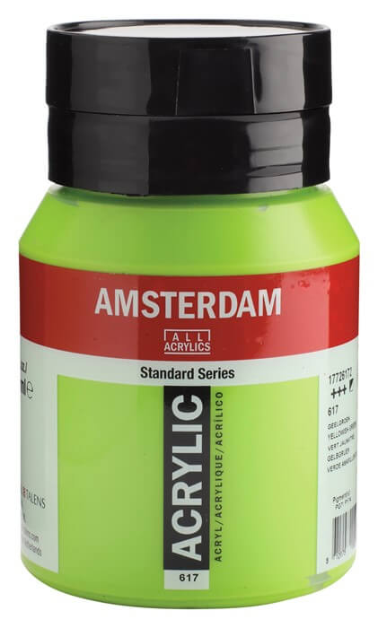 Ams std 617 Yellow green - 500 ml