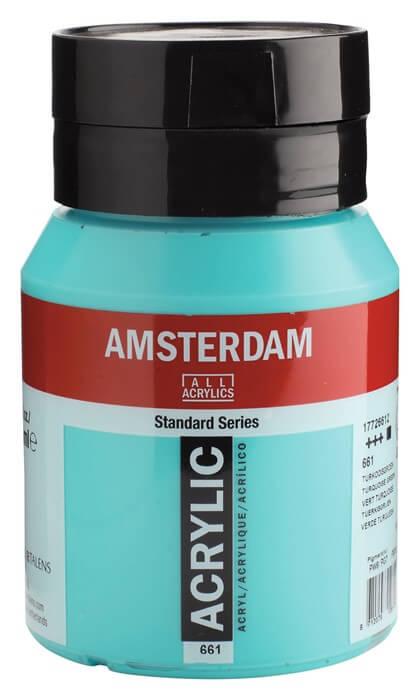 Ams std 661 Turquoise green - 500 ml