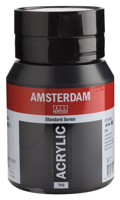 Ams std 702 Lamp black - 500 ml