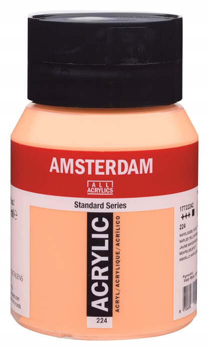 Ams std 224 Naples yellow red - 500 ml