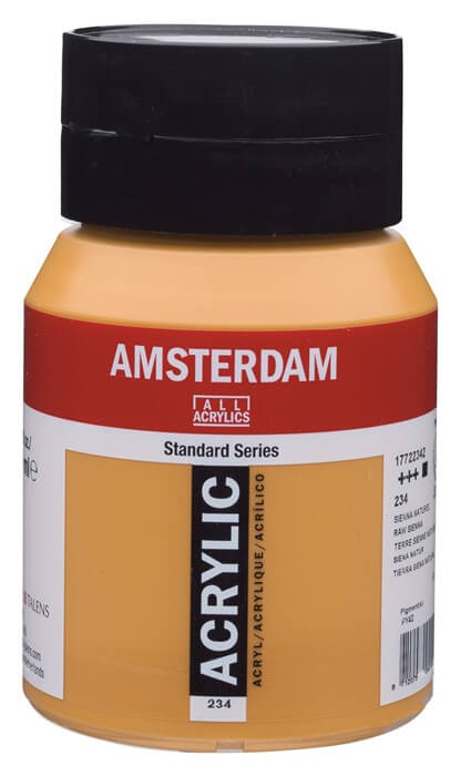 Ams std 234 Raw sienna - 500 ml