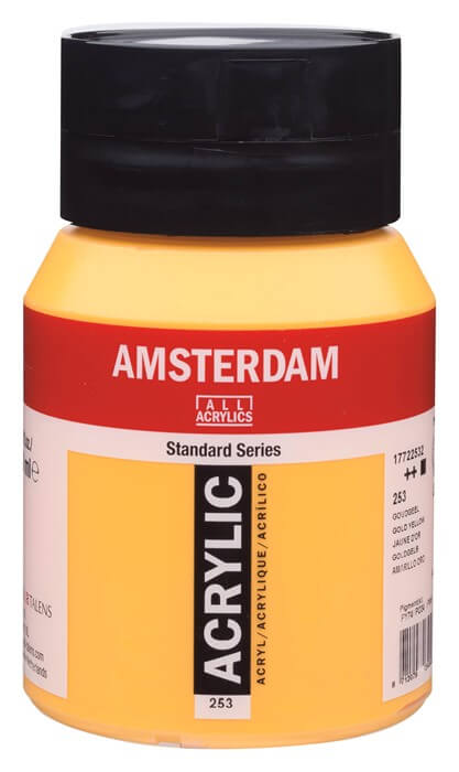Ams std 253 Gold yellow - 500 ml