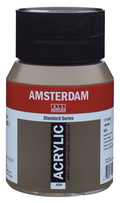 Ams std 408 Raw umber - 500 ml