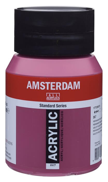Ams std 567 Permanent red violet - 500 ml