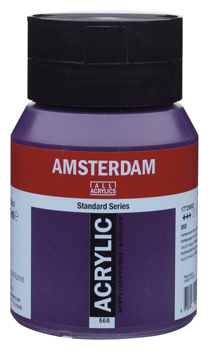 Ams std 568 Permanent blue violet - 500 ml