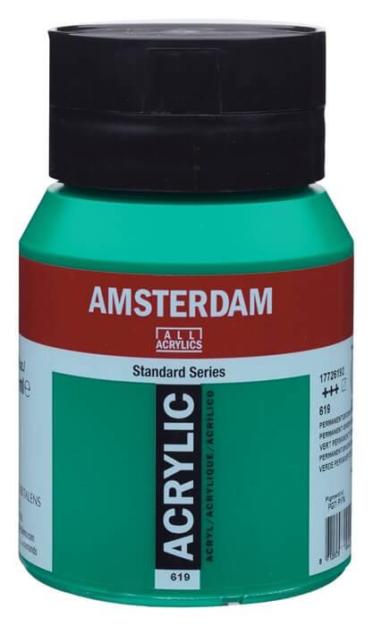 Ams std 619 Permanent green Deep - 500 ml