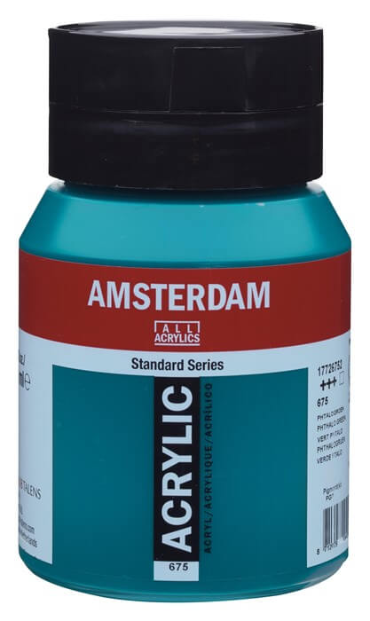 Ams std 675 Phthalo green - 500 ml