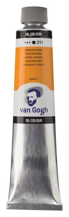 Billede af Van Gogh 211 Cadmium orange - 200 ml