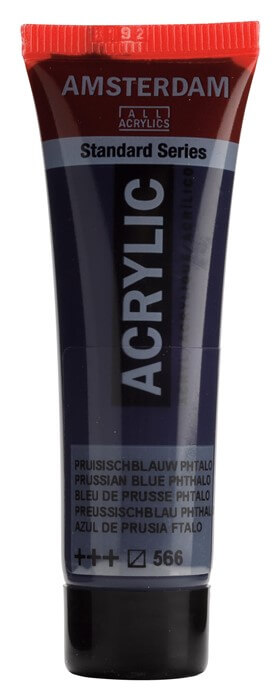 Ams std 566 Prussian blue (phthalo) - 20 ml