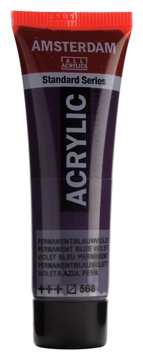 Ams std 568 Permanent blue violet - 20 ml