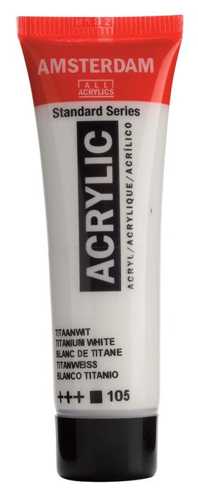 Ams std 105 Titanium white - 20 ml