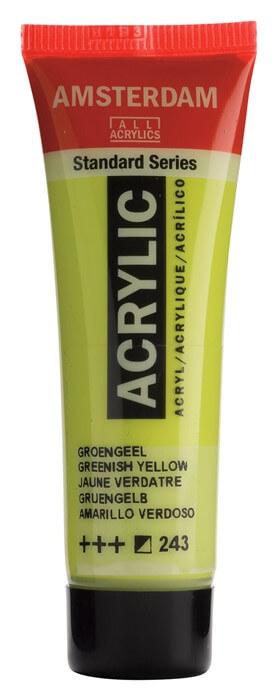 Ams std 243 Greenish yellow - 20 ml