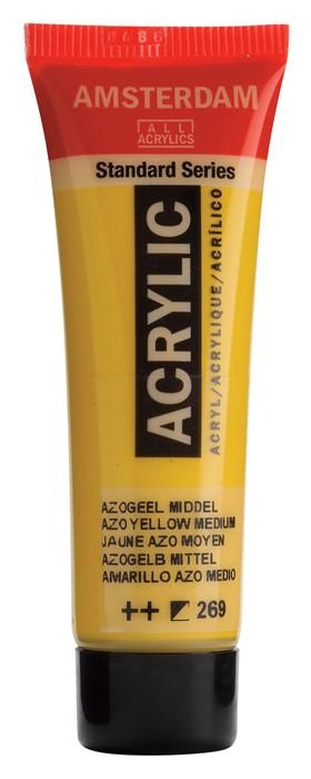 Ams std 269 Azo yellow Medium - 20 ml