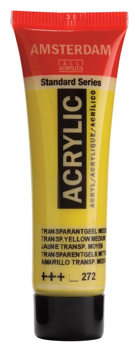 Ams std 272 Transparent yellow Medium - 20 ml