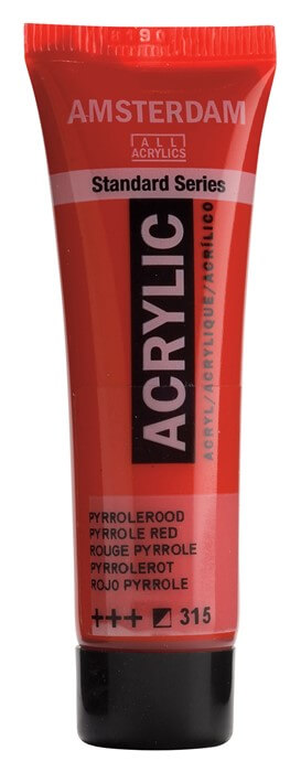 Ams std 315 Pyrrole red - 20 ml
