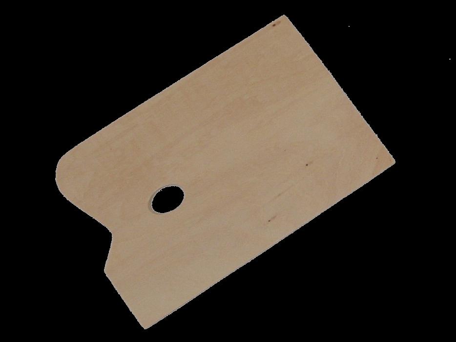 Malerpalet, rektangulær 40x50 cm